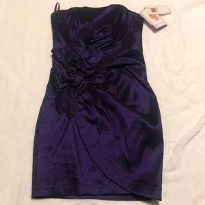 Jessica McClintock formal mini dress